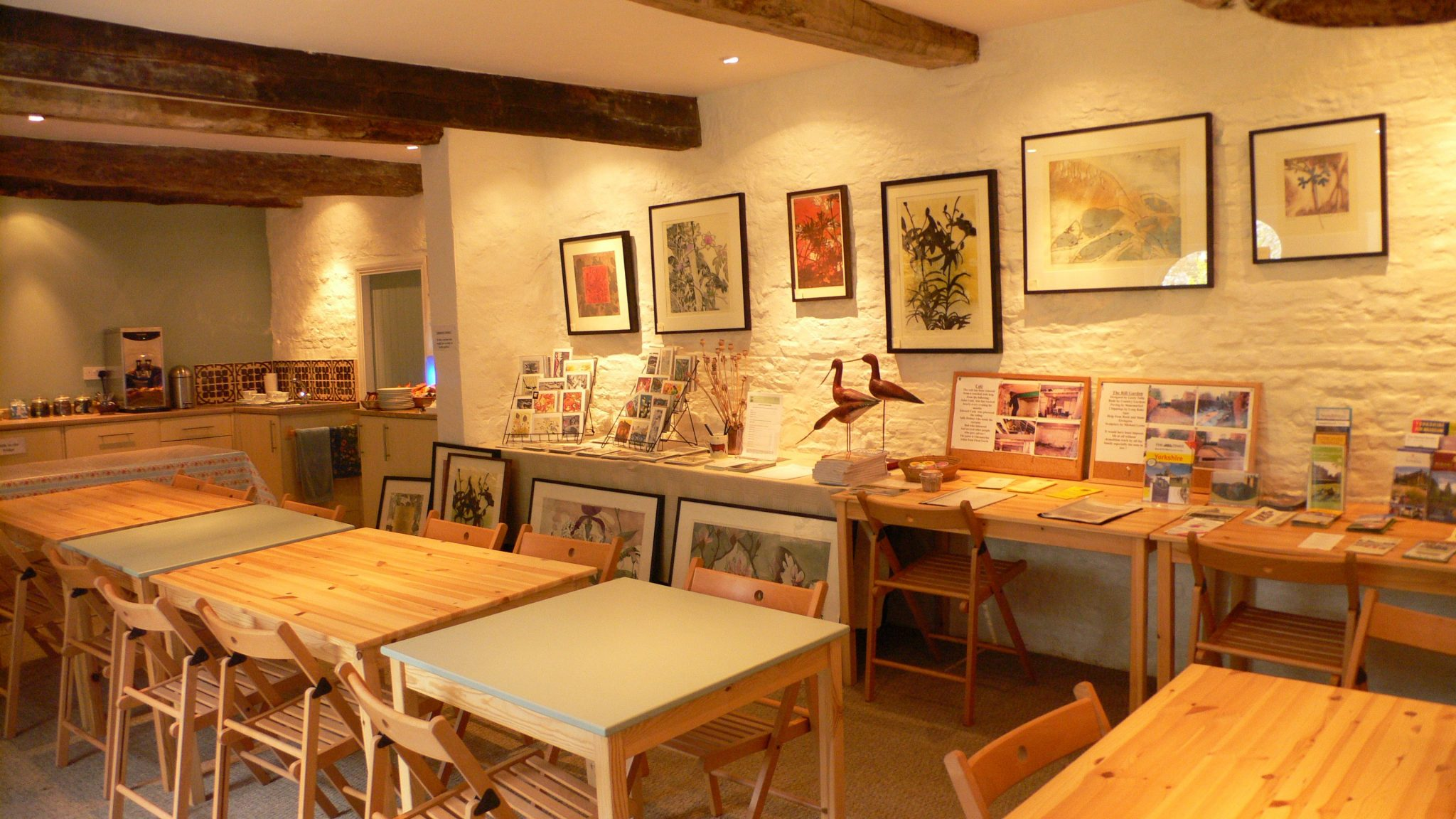 stillingfleet lodge garden cafe exhibition
